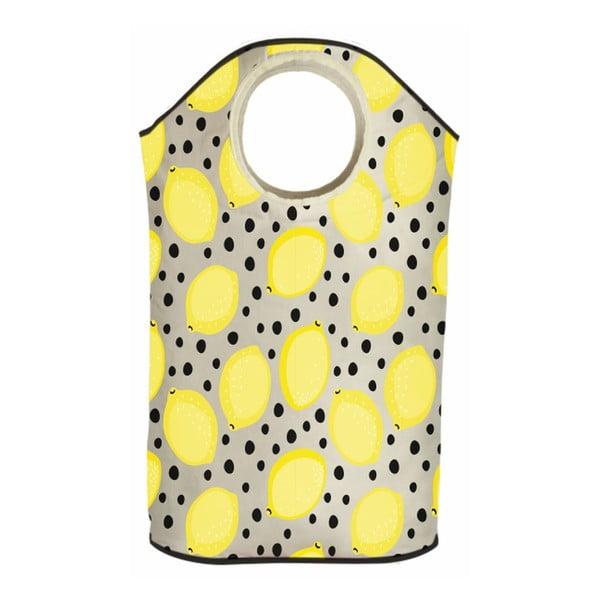 Koš na prádlo Lemon In Dots