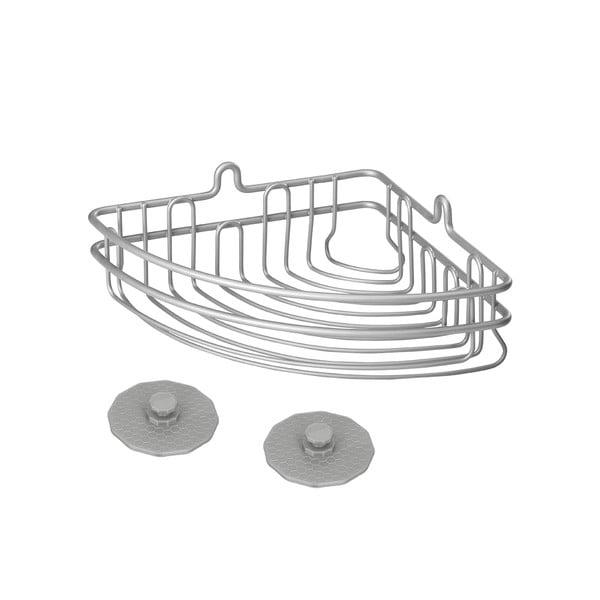 Artic Corner acél fürdőszobai falipolc - Metaltex