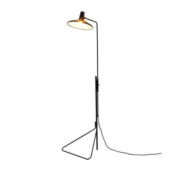 Černá volně stojící lampa Garageeight Eli