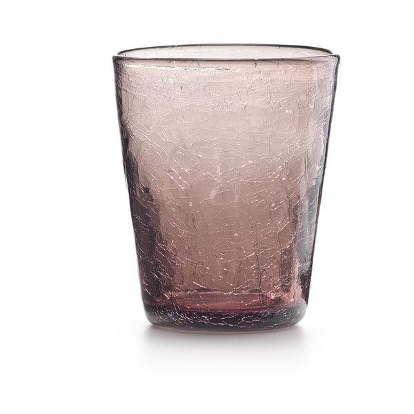 Set 6 ks sklenic Fade Ice, fialový