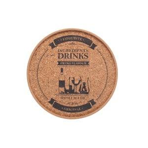 Korkové prostírání T&G Woodware Drinks