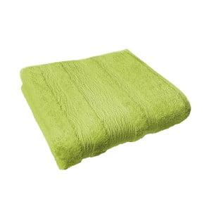 Osuška Ziczac 50x100 cm, zelená