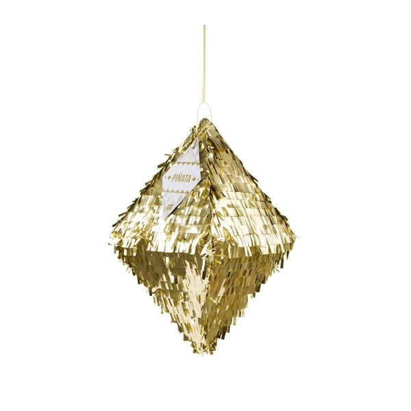 Papírová dekorace Metalic Gold Pinata