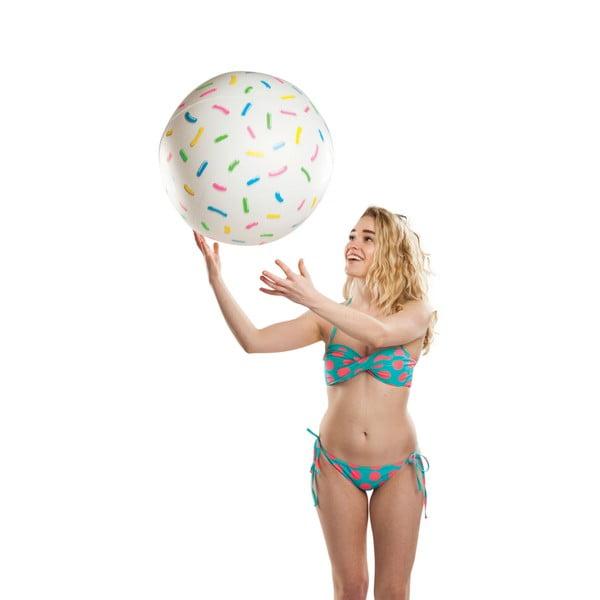 Nafukovací plážový míč ve stylu donutu Big Mouth Inc.