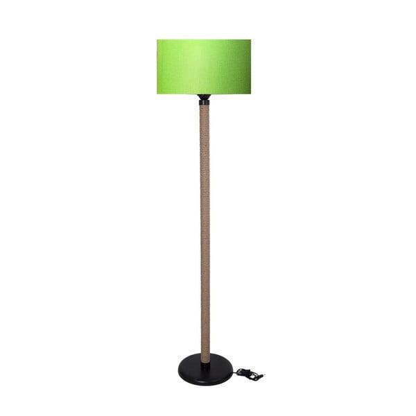 Lampadar Kate Louise Rope, verde neon - natural