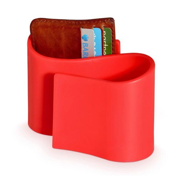 Stojánek na ovladače/mobil J-ME Snug Tidy, červený