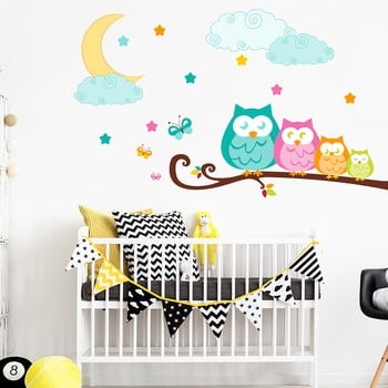 Autocolant Ambiance Owls in family