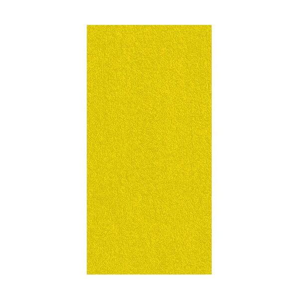 Ručník Ladessa, žlutý, 70x140 cm