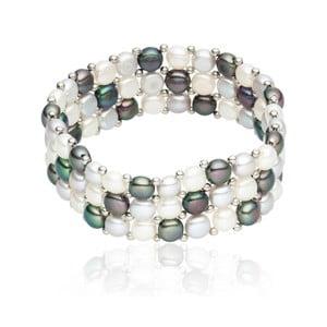 Perlový náramek Nova Pearls Copenhagen Olla, délka 19 cm