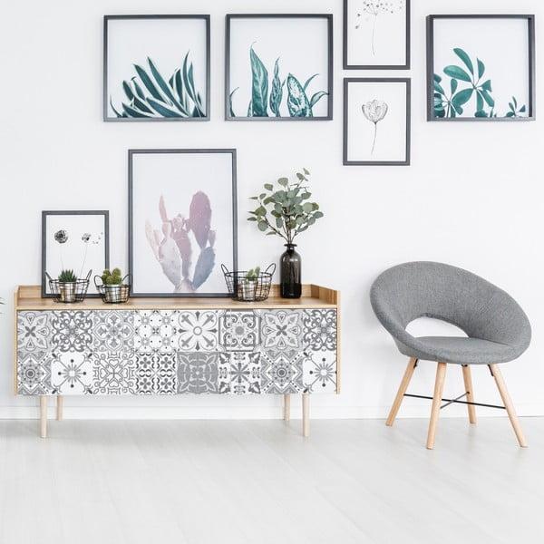 Sada 24 samolepek na nábytek Ambiance Cerena, 10 x 10 cm