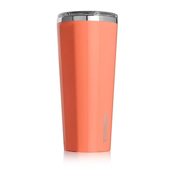 Oranžový termohrnek Corkcicle, 700ml