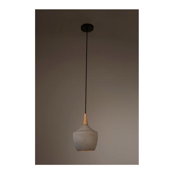 Závěsné svítidlo z betonu Dutchbone Carafe