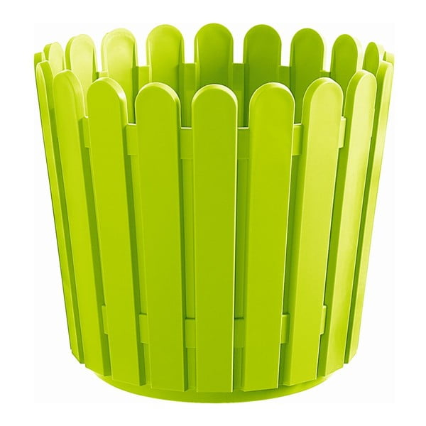 Květináč Round Planter Green, 30x27 cm