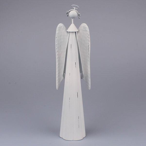 Dekorativní bílý anděl Dakls