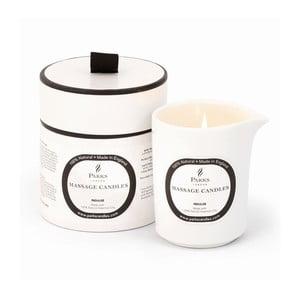Lumânare pentru masaj Parks Candles London Indulge/Soothing, 50 de ore de ardere, aromă de trandafir și ylang ylang