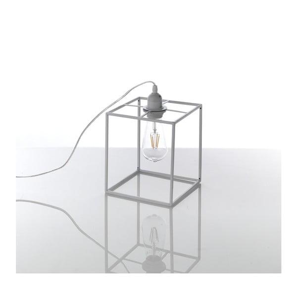 Šedá stolní lampa Tomasucci Stick, 20x18x18cm