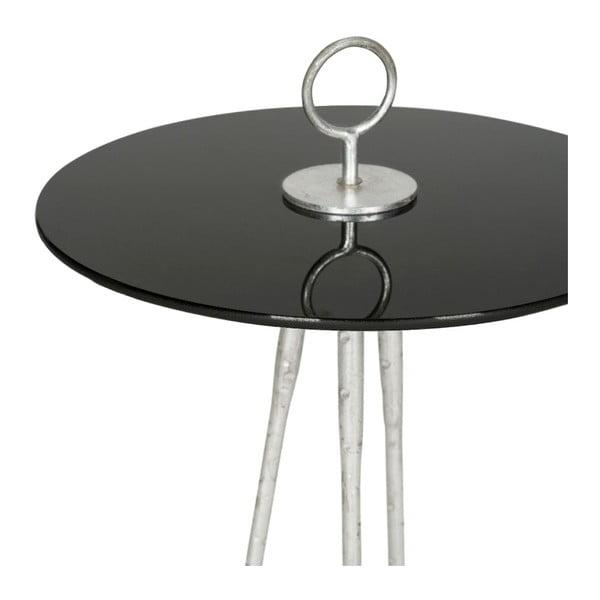 Odkládací stolek Griffin Black