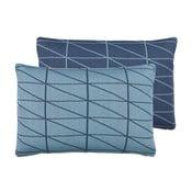 Oboustranný polštář s náplní Gate Blue, 40x60 cm