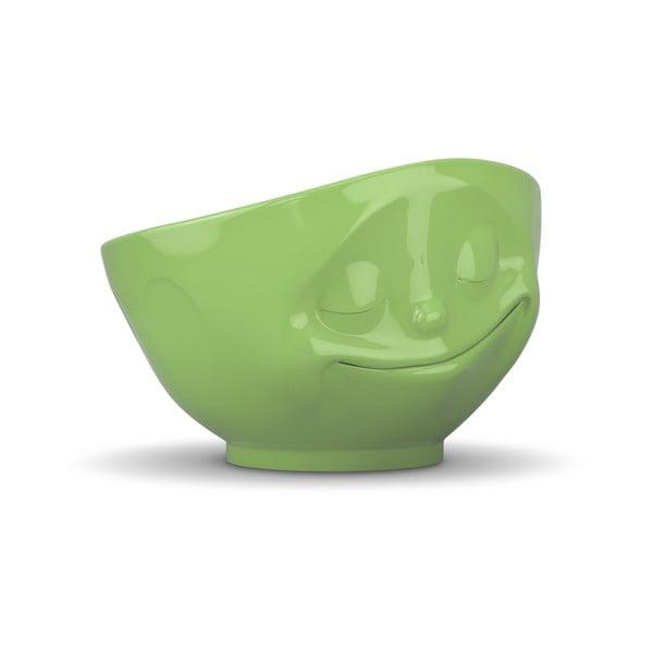 Bol porțelan, fericit 58products, verde