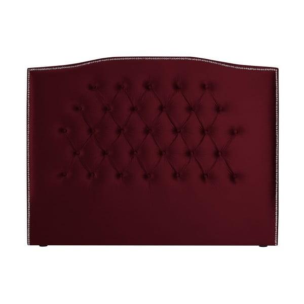 Červené čelo postele Mazzini Sofas, 140 x 120 cm