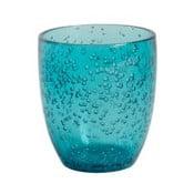 Modrá plastová sklenička Navigate Bubble, 400 ml