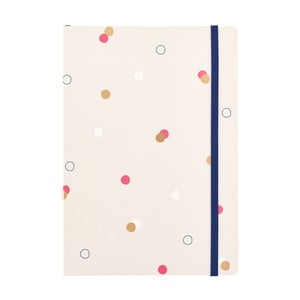 Tečkovaný zápisník o formátu A5 Busy B, 96 stran