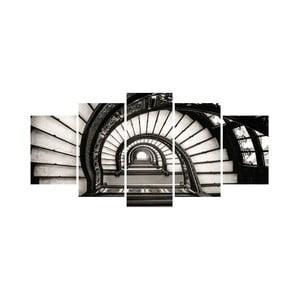 Vícedílný obraz Black&White no. 92, 100x50 cm