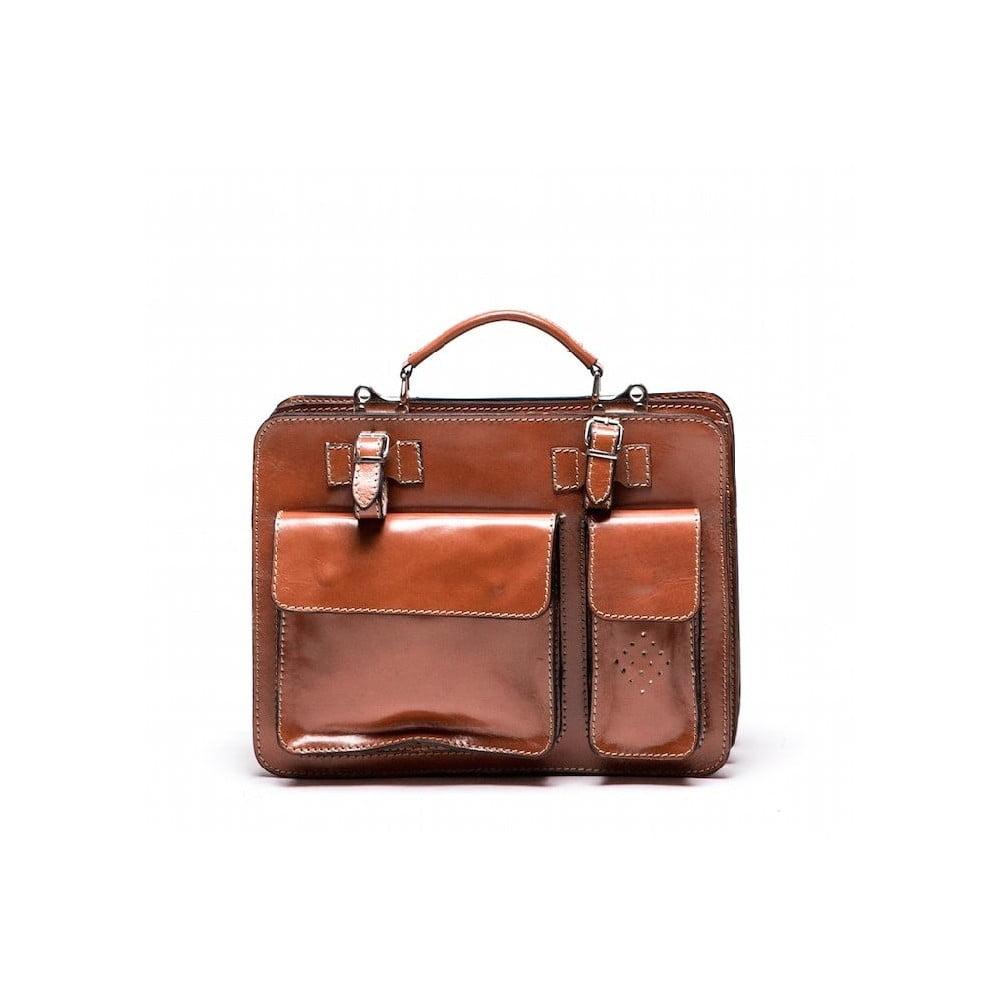 73ff578232 Kožená kabelka Isabella Rhea 305 Cognac