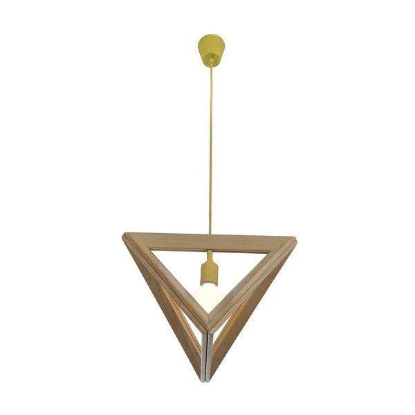 Závěsné světlo Triangle Yellow