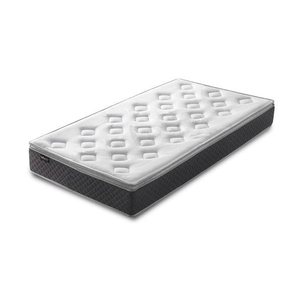Fraicheur fehér matrac szürke szegéllyel, 80 x 190 cm - Bobochic Paris