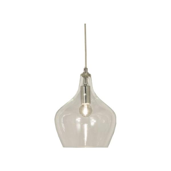 Bílé závěsné svítidlo Scan Lamps Melina