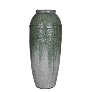 Šedá váza Mica Rolf, 57x23,5cm