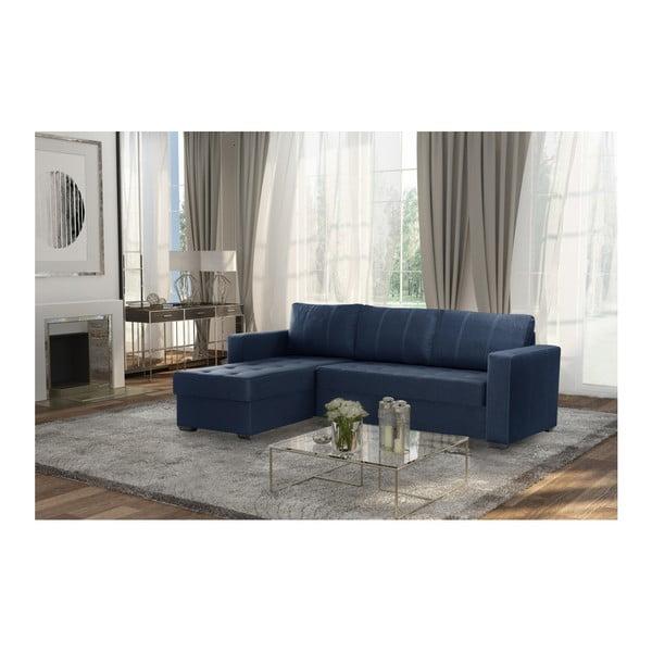 Modrá sedačka Interieur De Famille Paris Succes, levý roh