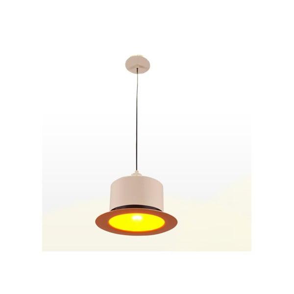 Stropní světlo Hat Cream/Orange