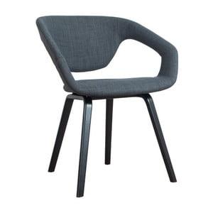 Židle Flexback Black Dark Grey