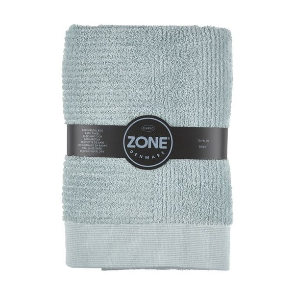 Sivozelená osuška Zone Classic, 70x140cm