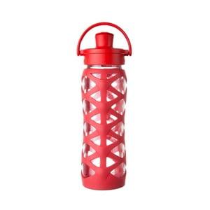 Sticlă de voiaj, din sticlă cu protecție din silicon, Lifefactory Charged Activ, 650 ml