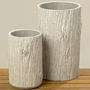 2 vaze din beton Boltze Francis