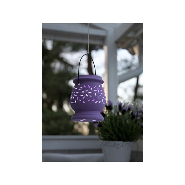 Venkovní LED lucerna Clay Lilac