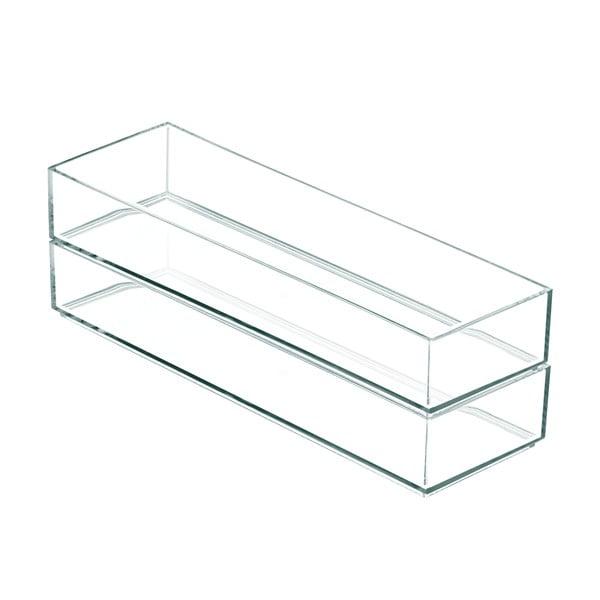 Stohovatelný organizér iDesign Clarity, 30,5x10cm