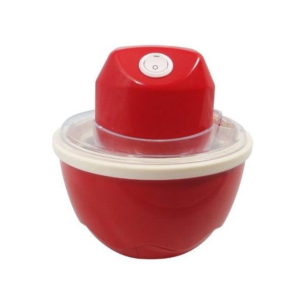 Czerwone urządzenie do produkcji lodów JOCCA Ice