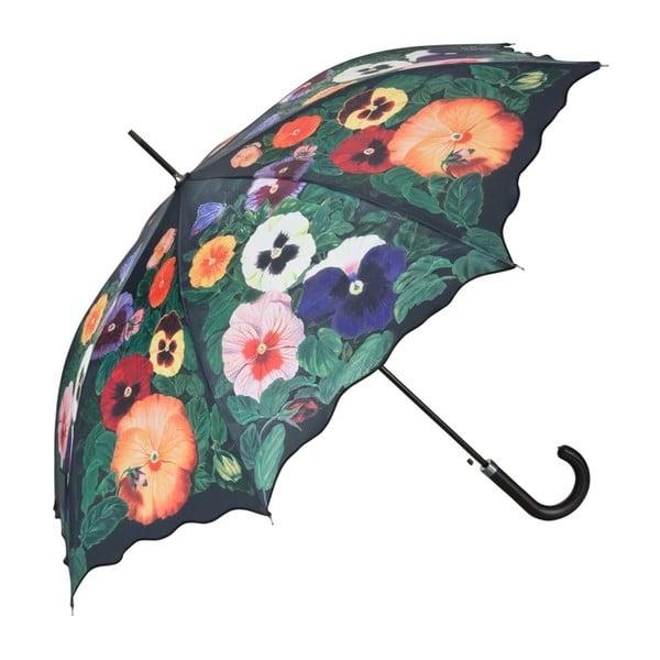 Parasol Von Lilienfeld Pansies, ø 100 cm