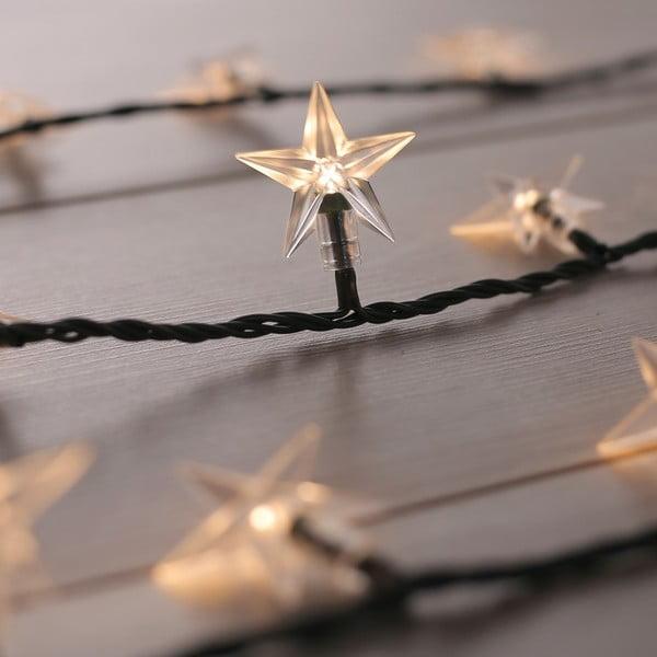 Dekorativní světýlka DecoKing Star,délka12,5m