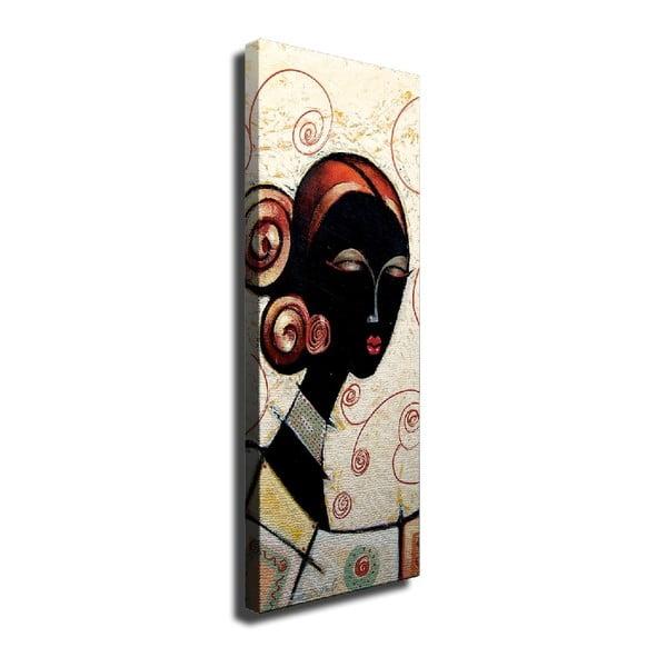African Woman vászon fali kép, 30 x 80 cm