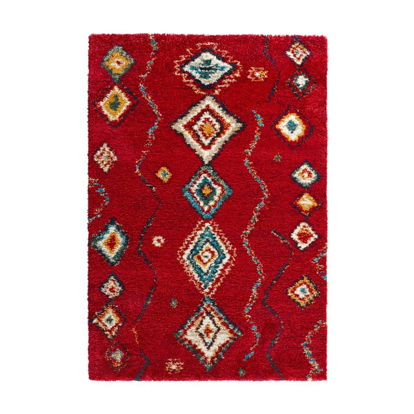 Červený koberec Mint Rugs Nomadic Dream, 80 × 150 cm