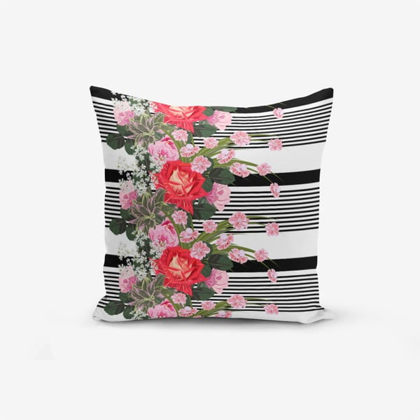 Notalar pamutkeverék párnahuzat, 45 x 45 cm - Minimalist Cushion Covers