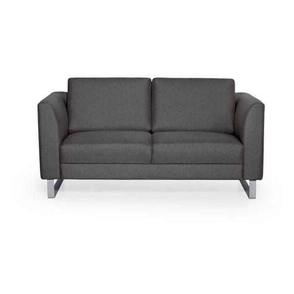 Geneve antracitszürke kétszemélyes kanapé - Softnord