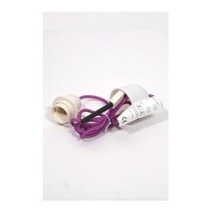 Textilní stropní kabel Earth Friendly, fialový