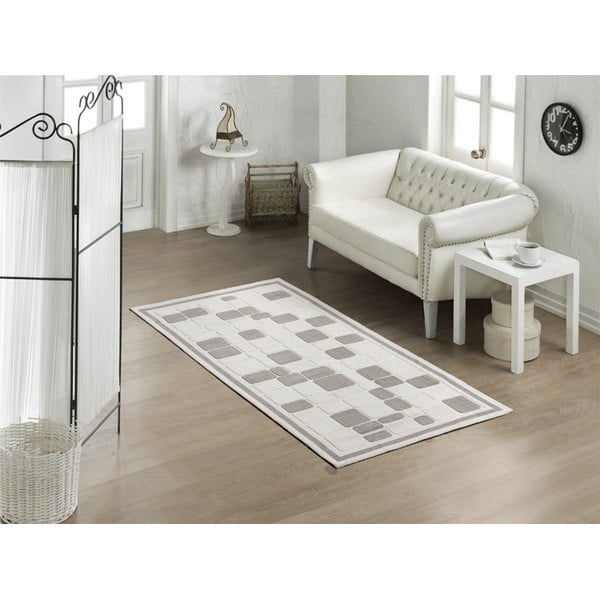 Koberec Cream Tiles, 155x235 cm