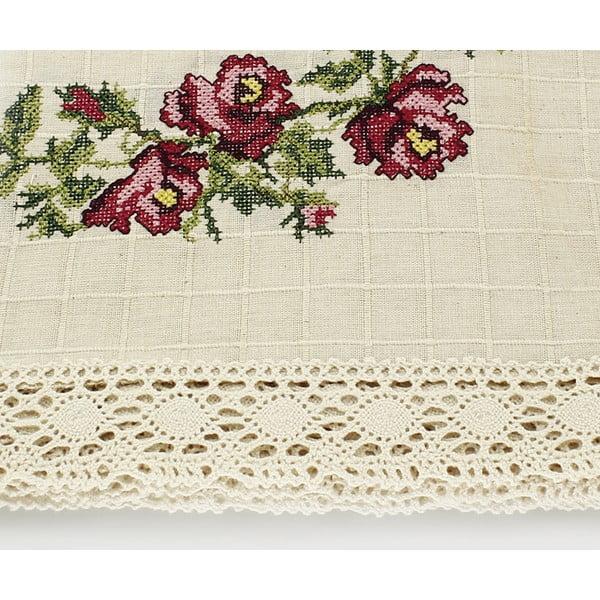 Ubrus Rose Romance, 100x100 cm